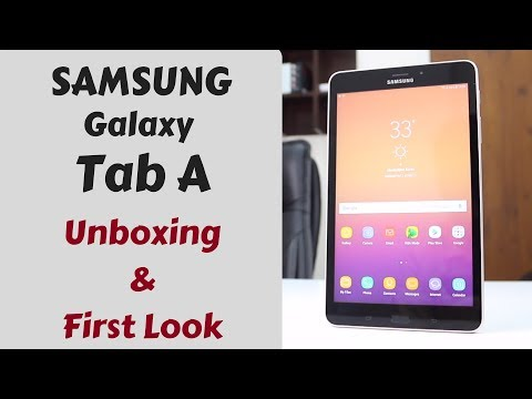 Samsung Galaxy Tab A- Unboxing & First Look