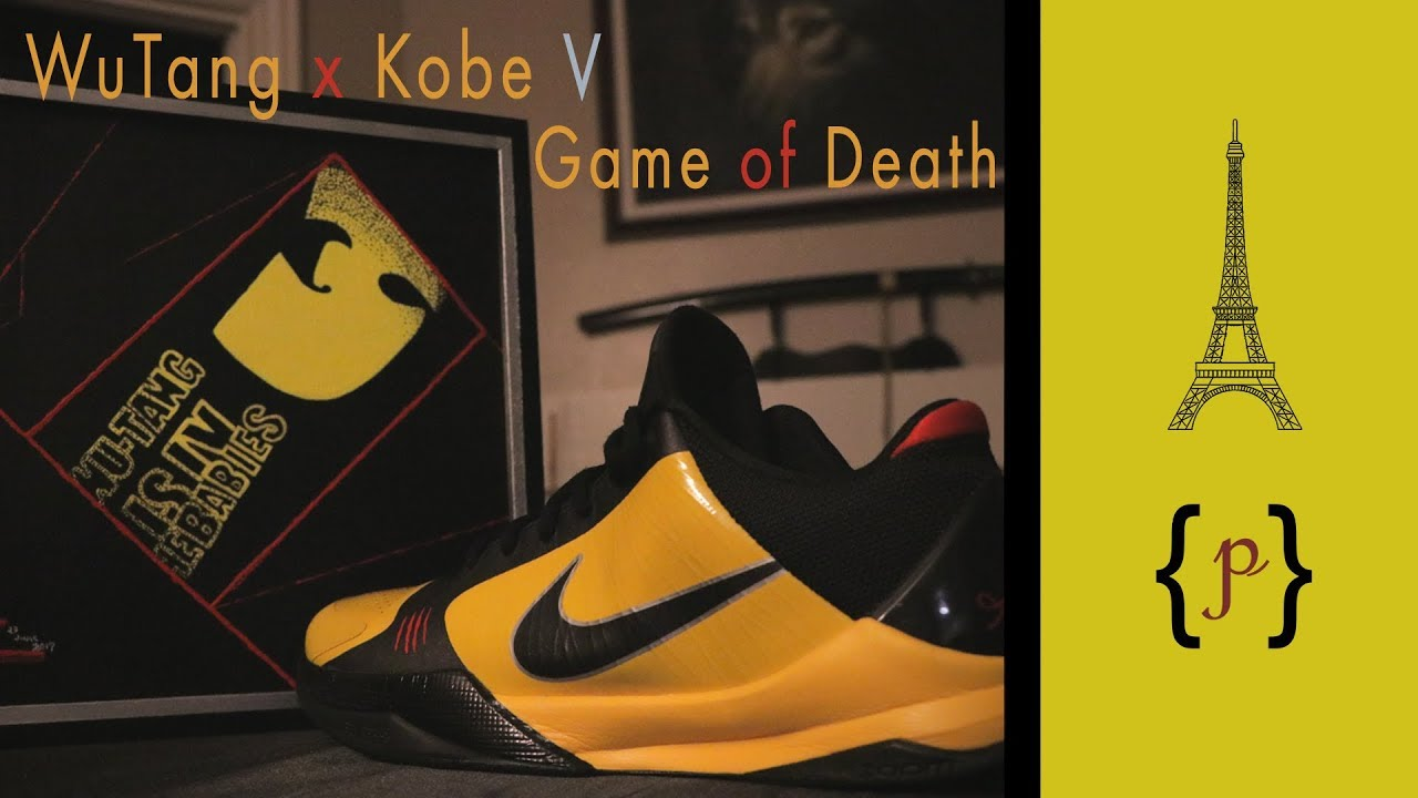 5a123a7a020b Wu Game   WuTang Clan x Kobe V Bruce Lee Game of Death   - YouTube