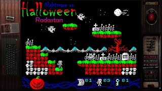 Nightmare on Halloween (Radastan) | ZX SPECTRUM Homebrew Gameplays