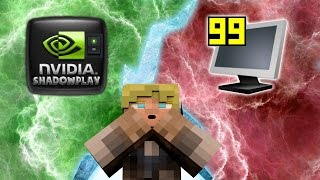 Fraps VS Nvidia ShadowPlay - Minecraft FPS Test W/Shaders + Without - Benchmark!