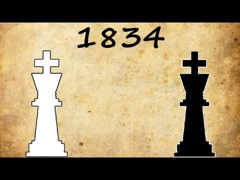 Alexander McDonnell vs Louis-Charles Mahé de La Bourdonnais - 1834