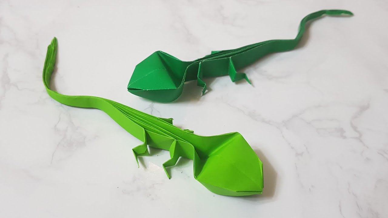 Origami Lizard second pic - a photo on Flickriver | 720x1280