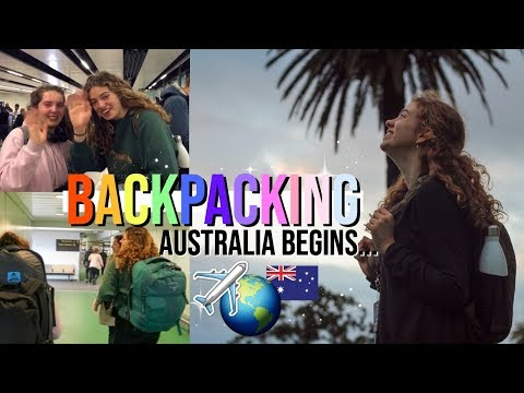 Backpacking, Round 2!! Surviving a 33-hour Journey & the Australian East Coast Adventure Begins 🌎