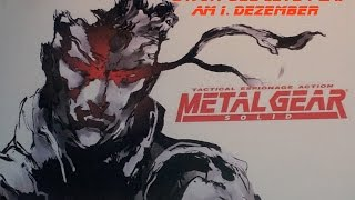 Metal Gear Solid: Special Missions & Sneak Peek 2015 | Unboxing | Playstation 1 | Konami | 1999