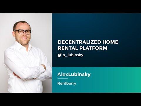 Alex Lubinsky: Decentralized Home Rental Platform