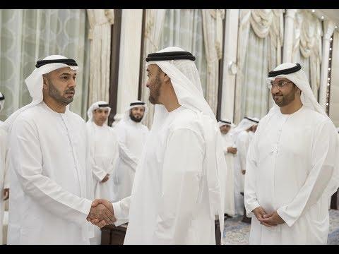 محمد بن زايد يستقبل رؤساء ومدراء المؤسسات الإعلامية
