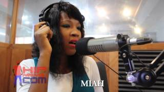 Miah perform mwen bouke live #hotsaturday Caraibes fm