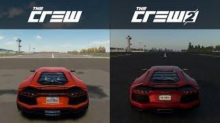 The Crew vs The Crew 2 - 2012 Lamborghini Aventador LP 700-4 - Sound Comparison
