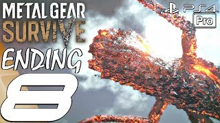 Metal Gear Survive - Gameplay Walkthrough Part 8 - Ending & Final Boss Fight (Full Game) PS4 PRO