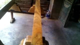 2 tấm gỗ gõ đỏ này có giá 60 tr