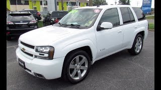 2008 Chevrolet Trailblazer SS Walkaround, Start up, Tour and Overview