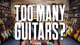 Every Guitar We Own [And A Couple We Don't] – That Pedal Show