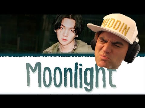AGUST D - 'MOONLIGHT' Lyrics Reaction // Suga from BTS // Guitarist Reacts