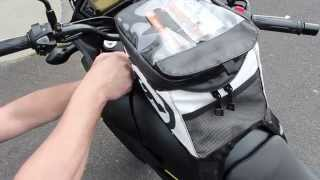 How To Install Giant Loop Motorcycle Tank Bag