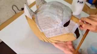 #25: Batman Cowl Diy 2/3 - Cardboard, Body Work (with Template)