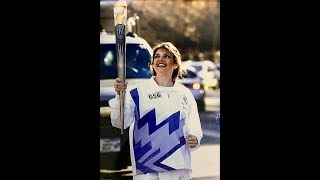 Olympic Torch Bearer - Sharon Delaney McCloud