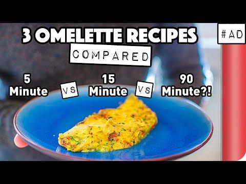 3 Omelette Recipes COMPARED