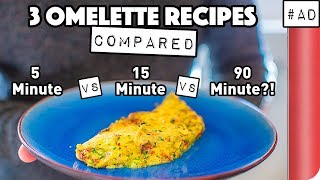 3 Omelette Recipes COMPARED