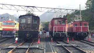 西武鉄道歴代貨物機関車展示