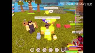 I Was Playing With My Friend Bronze Until I Saw This.. ?!?!| Roblox Booga Booga| Read The Description|