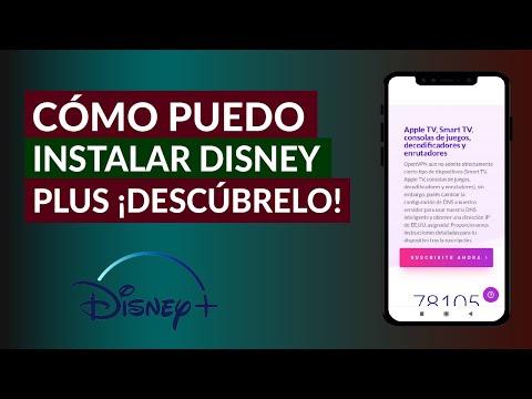 Cómo Puedo Instalar Disney Plus