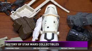 History of Star Wars collectibles