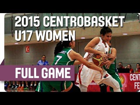 Puerto Rico v Guatemala - Group A - 2015 Centrobasket U17 Women's Championship