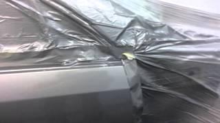 Кузовной ремонт на стапеле (вытяжка)Chevrolet Lacceti и покраска авто.,после лобового удара.