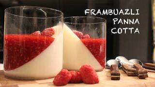 Panna Cotta Nasıl Yapılır? - İtalyan Muhallebisi - Frambuaz Sos - Bir Evin Mutfağı / Beliz Demir