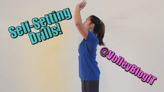 Volleyball Solo Drills: Setting