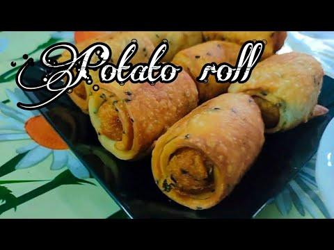 Iftar special snaks | potato roll recipe malayam | Vahidas vlogs