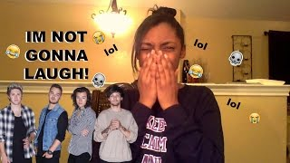Try NOT To Laugh (ONE DIRECTION EDITION) #2 Reaction!