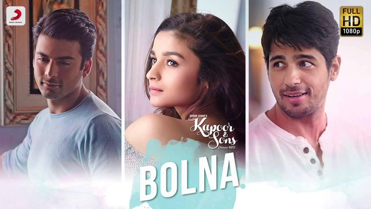 Bolna Full Song (Audio)- Kapoor & Sons   Sidharth Malhotra ...