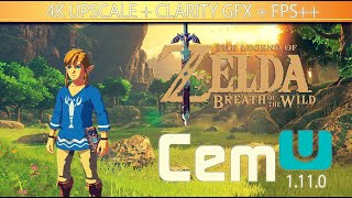 🔴 LIVE | ZELDA: BOTW NO PC | CEMU 1.11.0 + GRAPHIC PACK 4K + CLARITY GFX