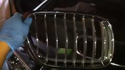 Replacing a Kidney Grille on a BMW x5