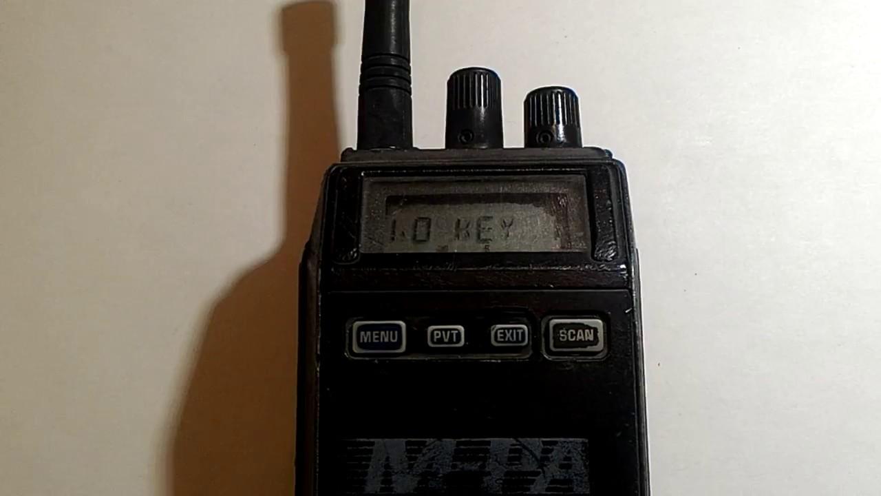 Digital encryption with old police radios - Part 2 (digital modes)