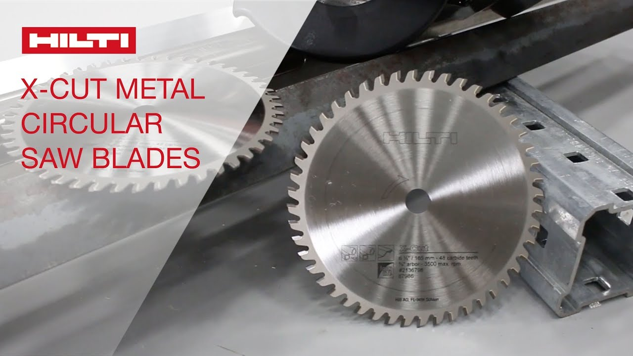 Review of hilti x cut metal circular saw blades youtube review of hilti x cut metal circular saw blades greentooth Image collections