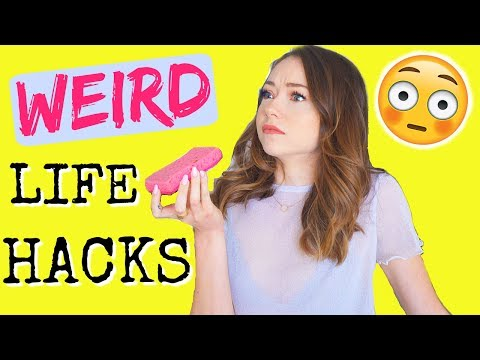 Thumbnail: WEIRD Life Hacks You NEED to Know!
