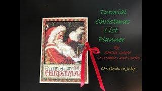 Video CHRISTMAS IN JULY YOUTUBE HOP TUTORIAL XMAS LIST PLANNER SHELLIE GEIGLE JS HOBBIES download MP3, 3GP, MP4, WEBM, AVI, FLV Agustus 2018