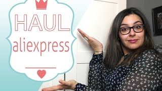 HAUL COMPRAS ALIEXPRESS