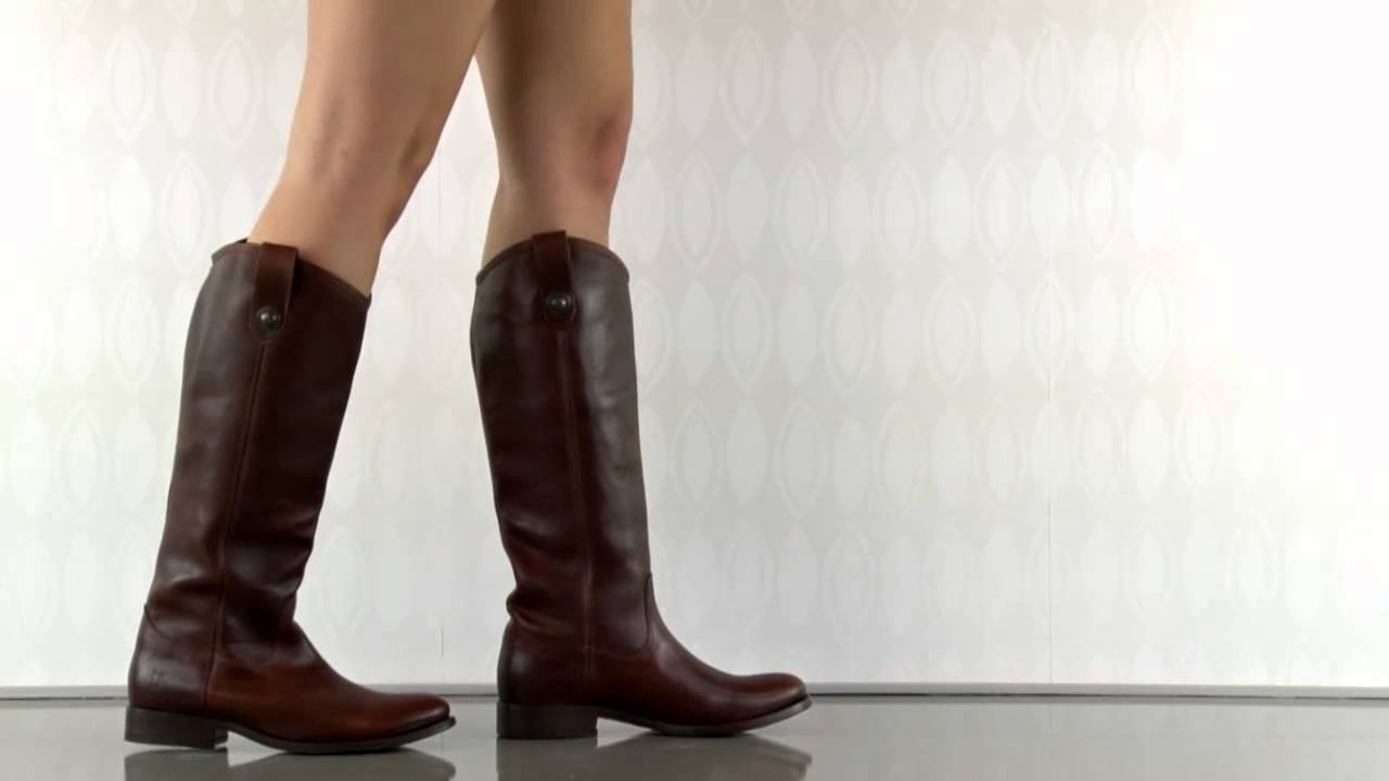 0995919317dc Melissa Button 77167 in Cognac Frye Shoes - YouTube