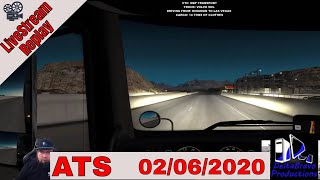 📽️ Live-stream Replay -ATS -Custom Button Box Demo  - DBP Transport- 02/06/2020 🚚