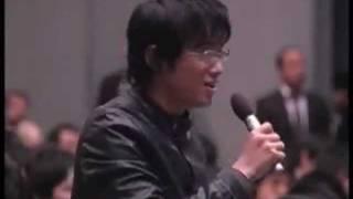Ansprache  Muammar Al Gaddafi`s an die Studenten und der Fakultät der Meiji-Universität in Japan