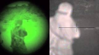 Night Vision vs. Thermal - Direct Side-by-Side Comparison. Hunting Feral Pigs with the Dehoganator