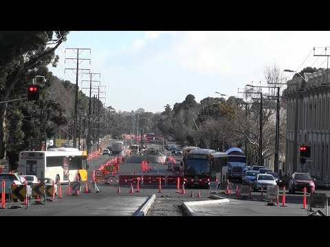 O-Bahn City Access Project Tunnel Progress Greater Adelaide video Aug 2017