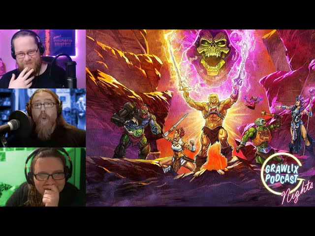 Whittaker and Chibnall are Done & Masters of the Universe is Great!? | Grawlix Nights
