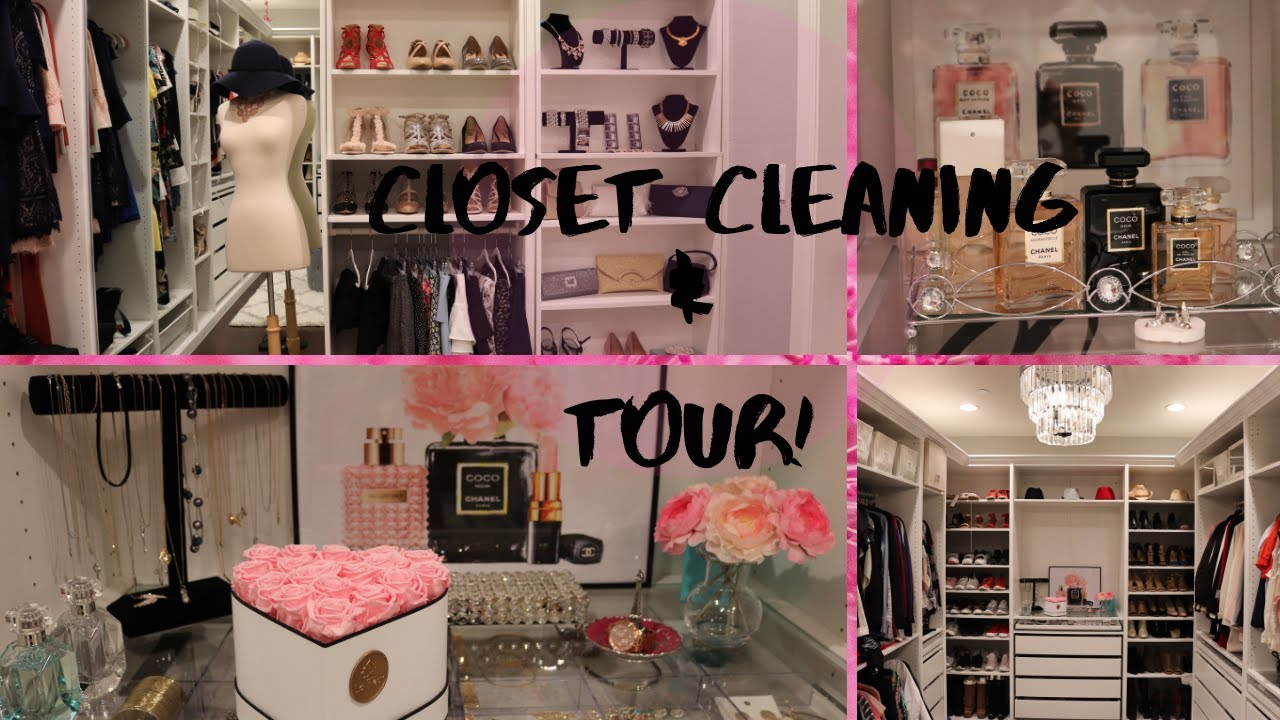 Download CLOSET CLEANING/CLOSET TOUR/ CLEAN & ORGANIZE MY CLOSET WITH ME!