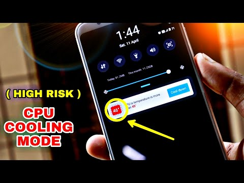 ( HIGH RISK ) Activate CPU COOLING MODE In Your Smartphone !! Phone Heating Problem Solve MIUI 11
