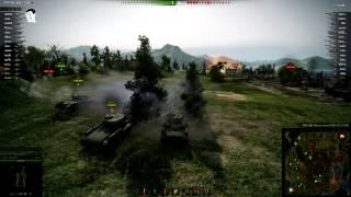 Как взвод танков 6-го уровня одним залпом убил фулового Т-62А