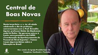 Formação Acadêmica - CENTRAL DE BOAS NOVAS